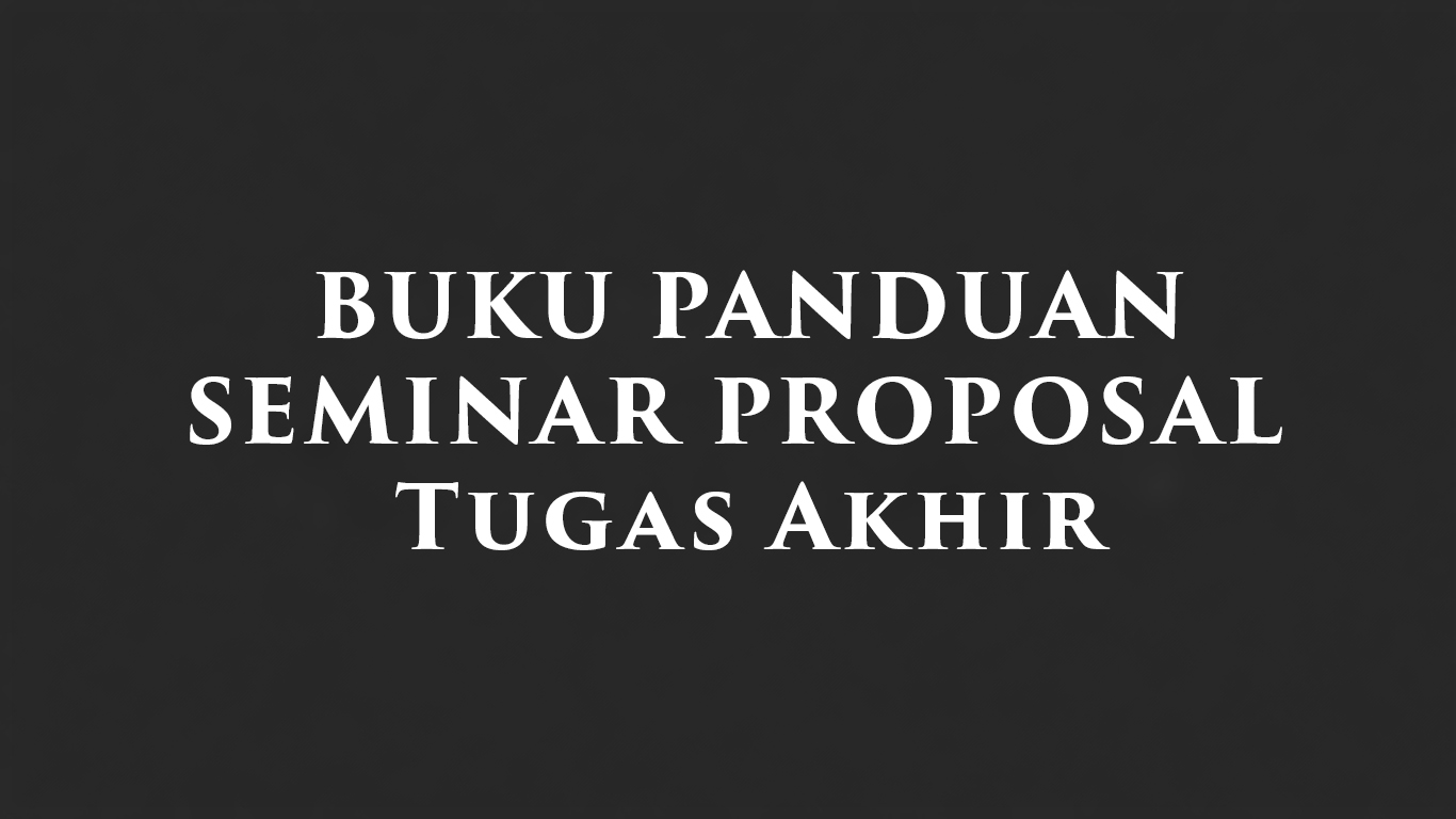 seminar Proposal TA