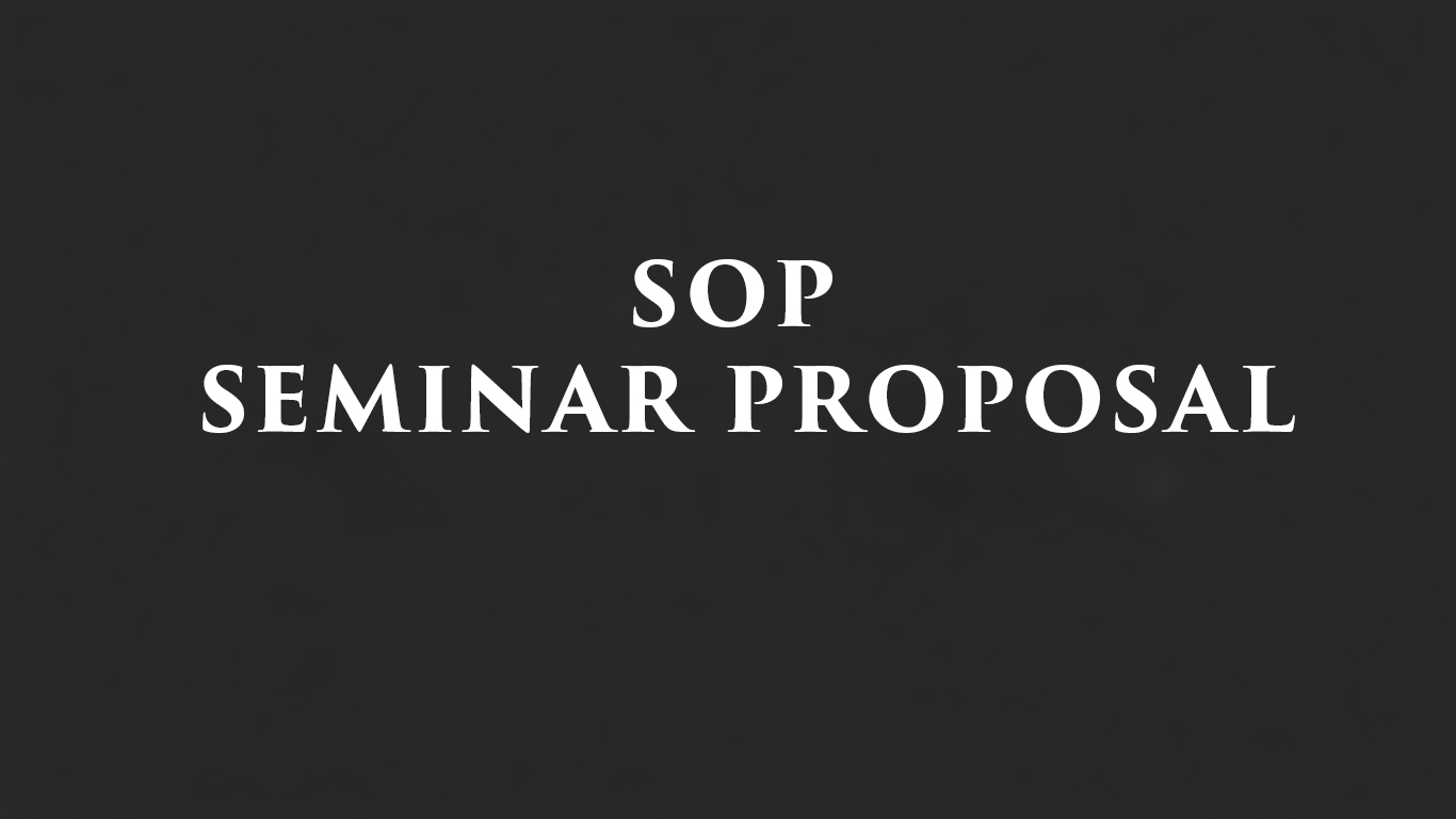 sop-seminar-proposal
